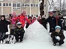 zimné radovánky v školskom klube